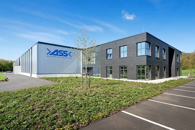 New Company Building of ASS Maschinenbau GmbH in Overath near Cologne.